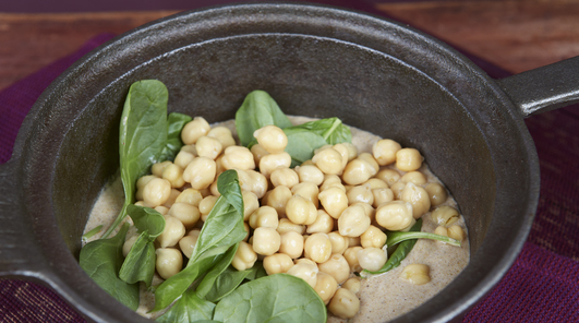 Chickpea Coconut & Cashew Curry
