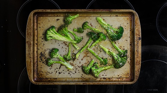 ROAST THE BROCCOLI
