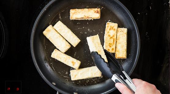 Finish the tofu