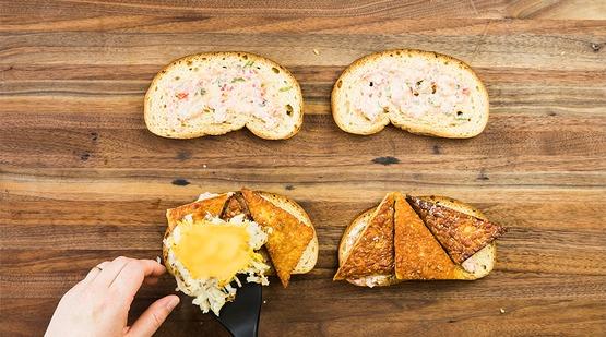 Build the sandwiches