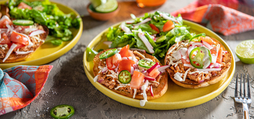 Mexican Molletes with Refried Beans & Pico de Gallo