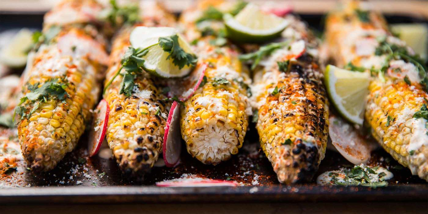 Elote-Style Corn or Mexican Street Corn