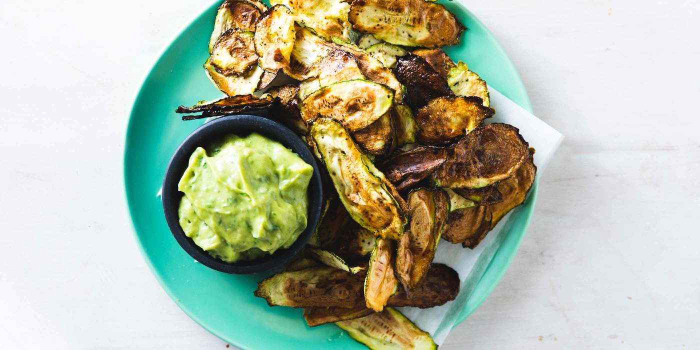 Vegan Zucchini Chips
