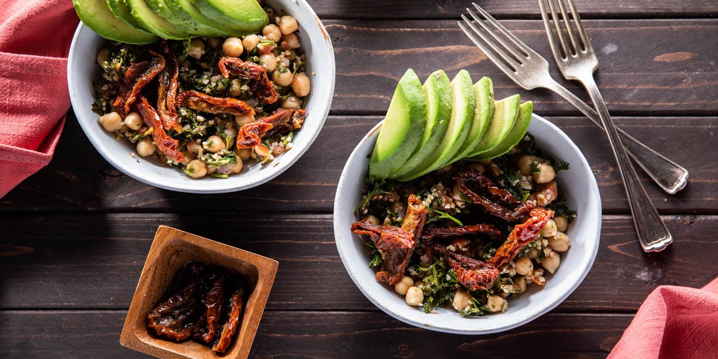 Cedar's Tabouli Salads with Avocado & Roasted Tomatoes