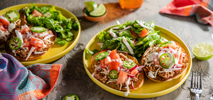 420 197 vegan mexicanmolletteswithrefriedbeans horizontal