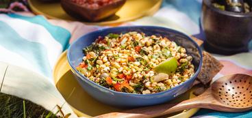 Mexican Elote Grain Salad