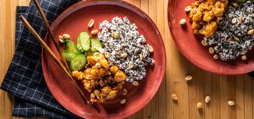 368 173 vegan kungpaocauliflowerwithgarliccucumbers horizontal