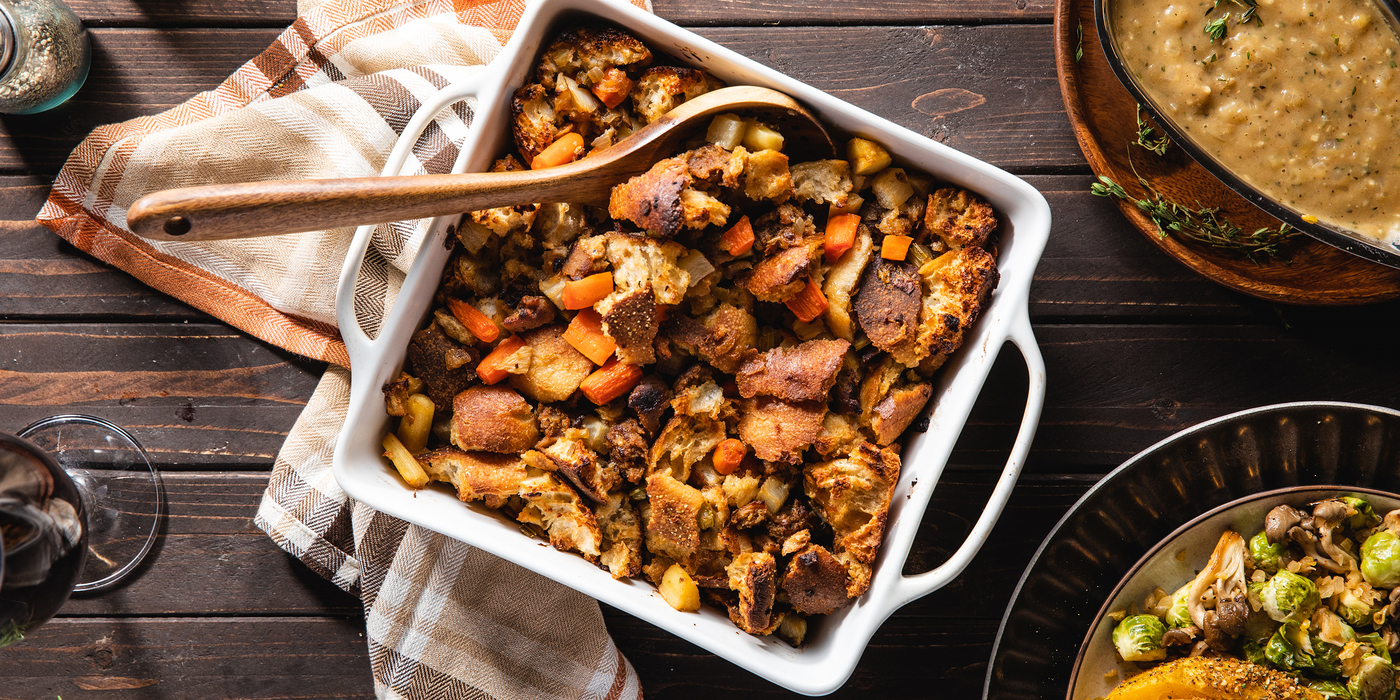 1400 700 vegan thanksgiving stuffing horizontal