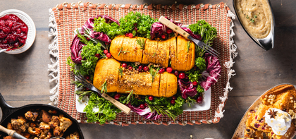 420 197 vegan thanksgiving hasselbacksquash horizontal