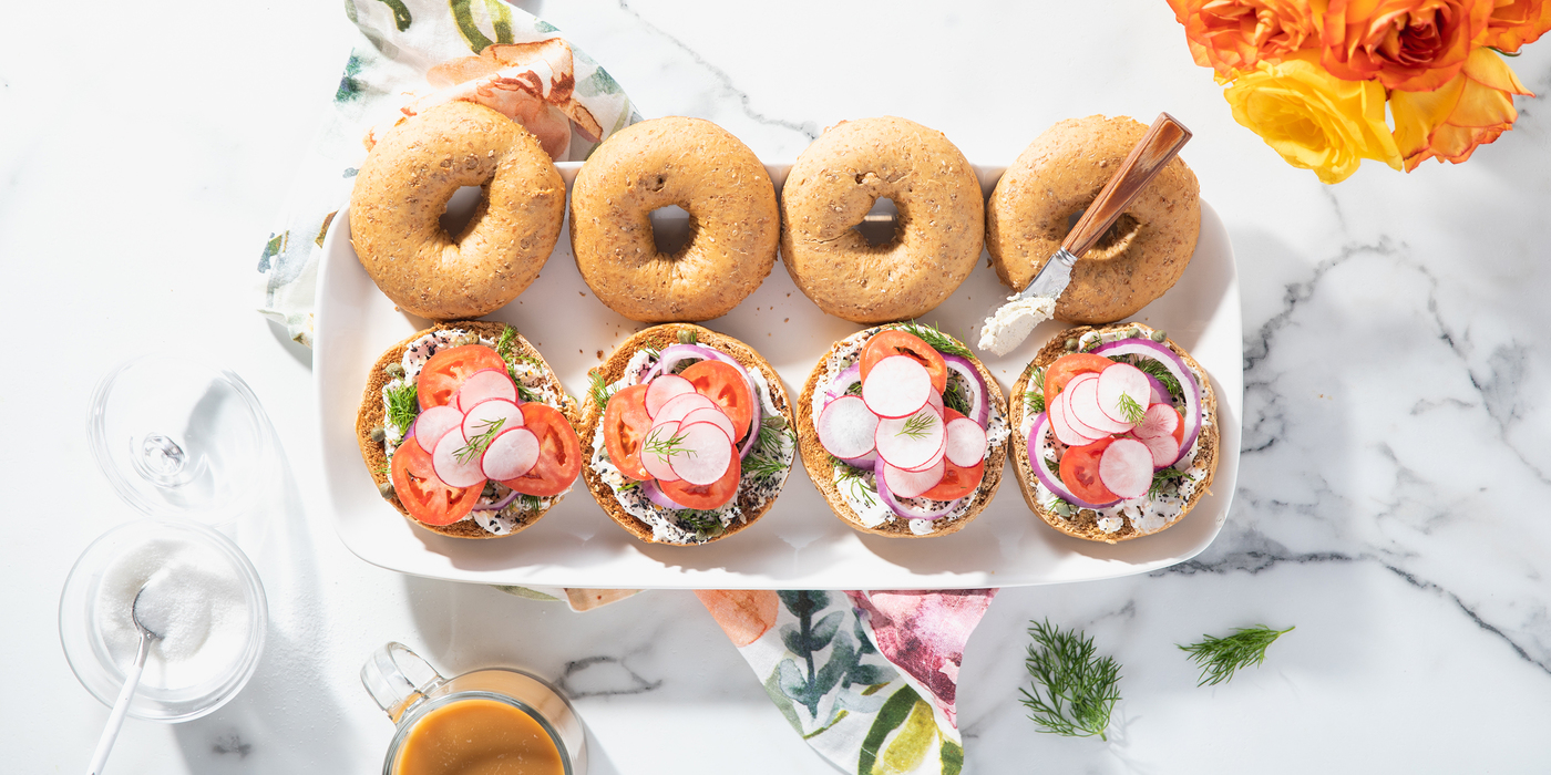 1400 700 caper dill bagels with everything cream cheese horizontal