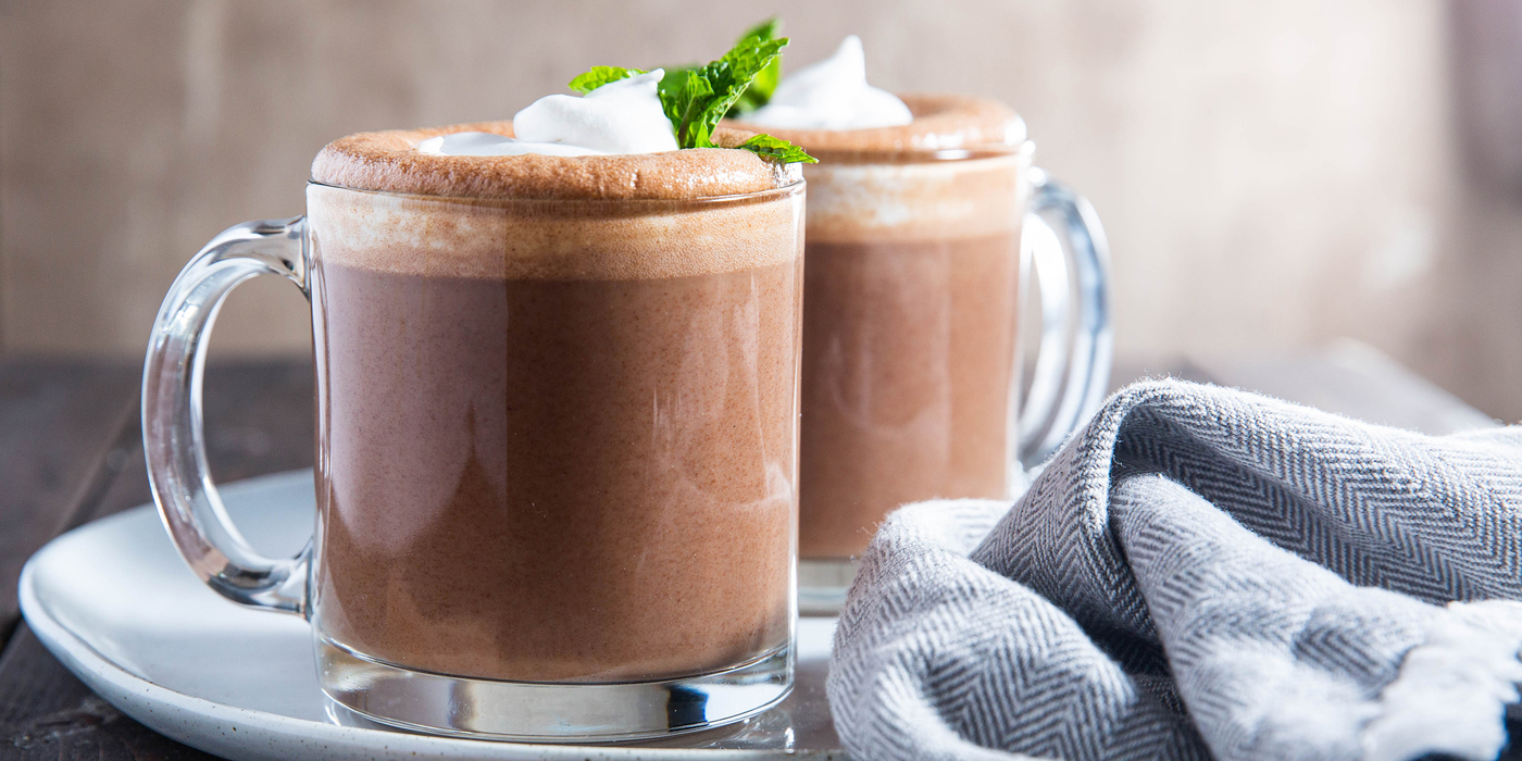 Minted Hot Chocolate
