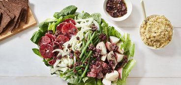 368 173 ef91 a15a vegan winter nicoise salad with cashew split pea pate hero