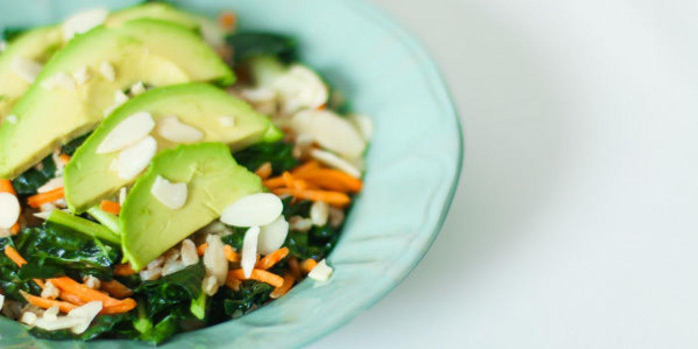 Kale Fennel and Farro Detox Salad