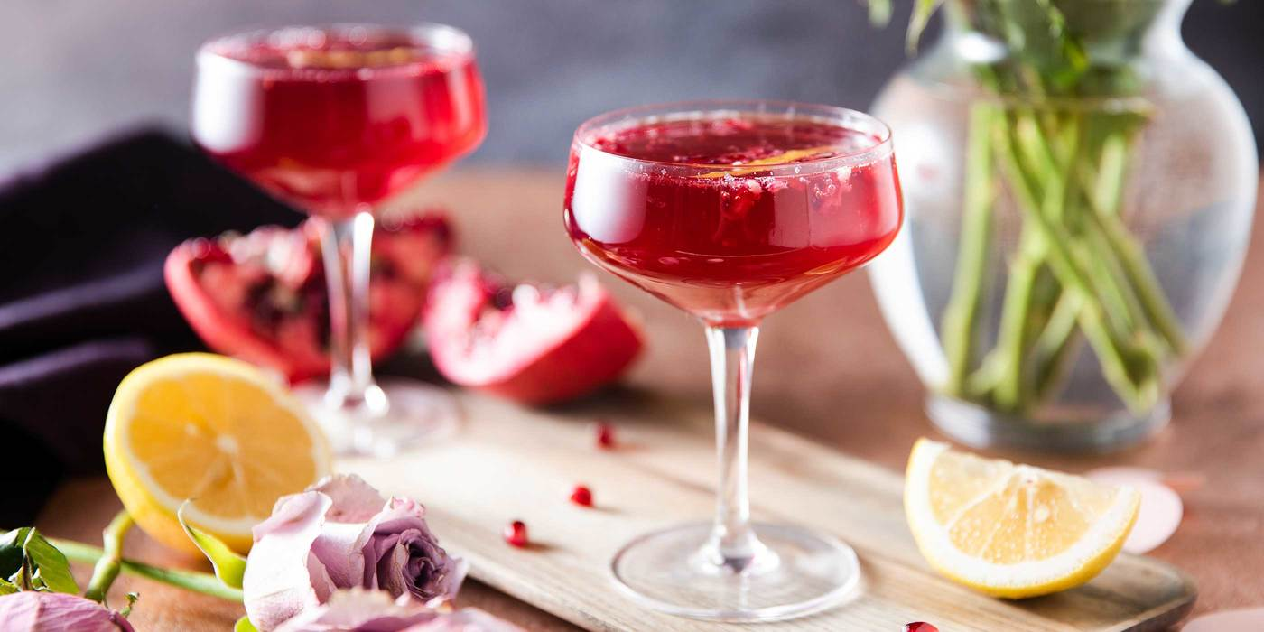 Pomegranate Sparkling Spritz