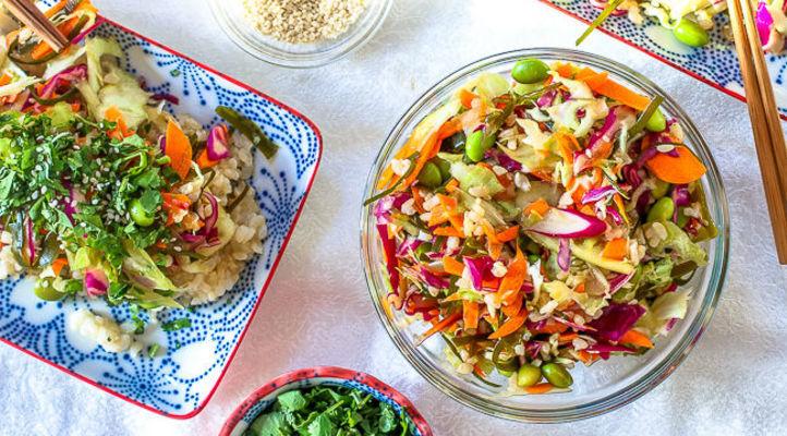 Superfood Kelp Noodle Salad