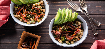 Cedar's Tabouli Salads with Avocado & Roasted Tomatoes