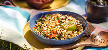 Mexican Elote Grain Salad