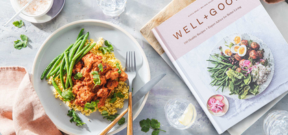 Tempeh Tikka Masala with Millet & Charred Green Beans