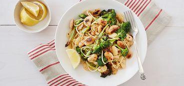 368 173 9cc2 fafb vegan broccoli pasta with crisp butter beans hero