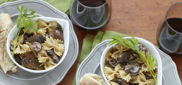 368 173 31bc d611 farfalle with mushrooms beauty
