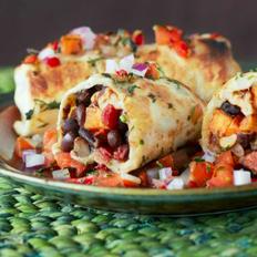 Black Bean & Sweet Potato Enchiladas