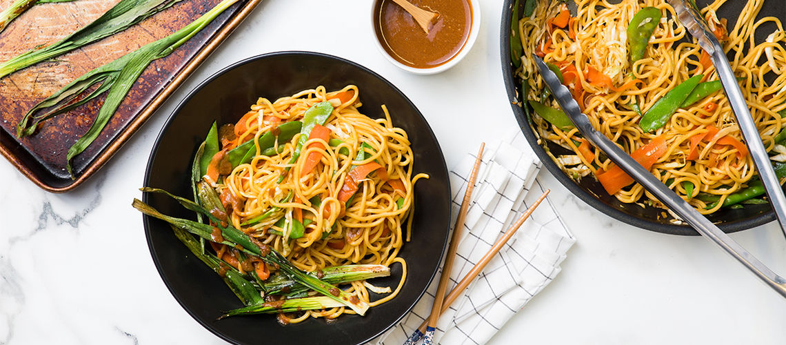 how to make vegetable chow mein recipe