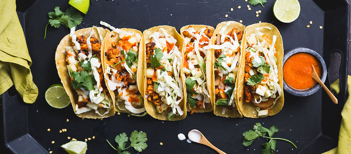 how to cook tempeh for tacos