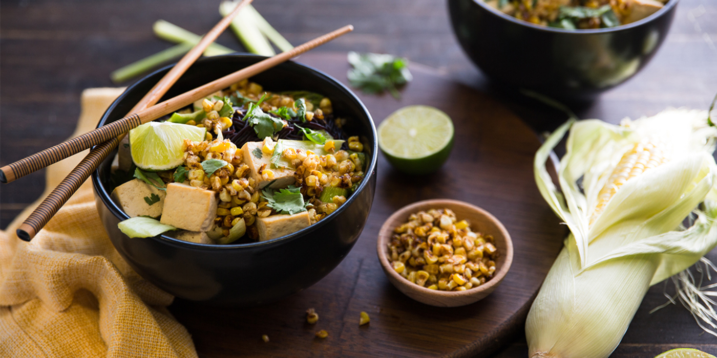 Summer Ramen with Coconut Lime Broth and Sweet Corn