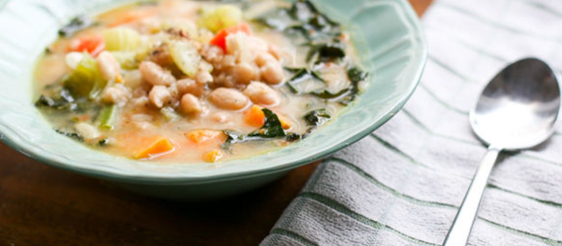 Kale and Cannellini Bean Soup