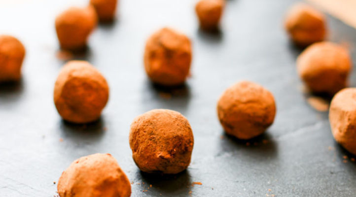 Chocolate Ginger Truffles