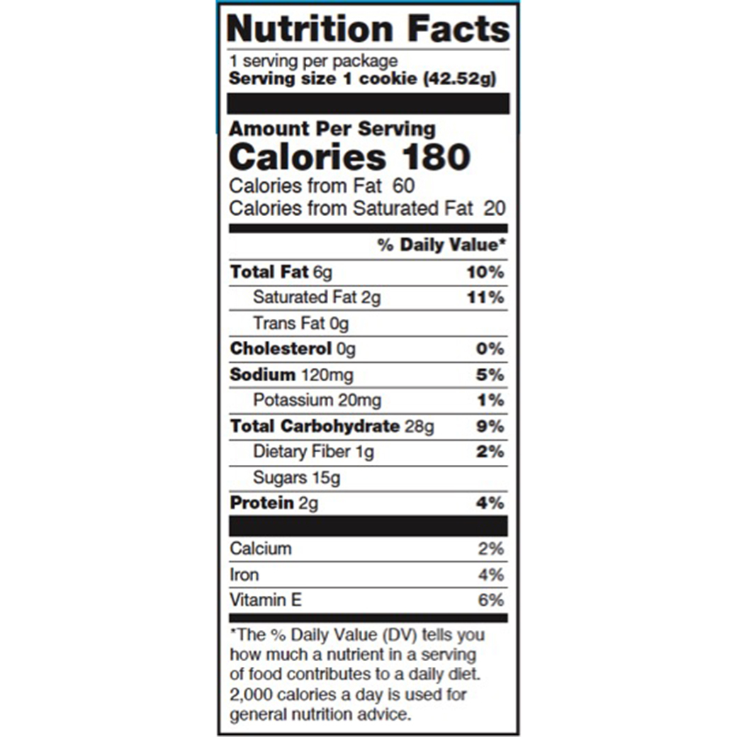 vanilla bean nutrition
