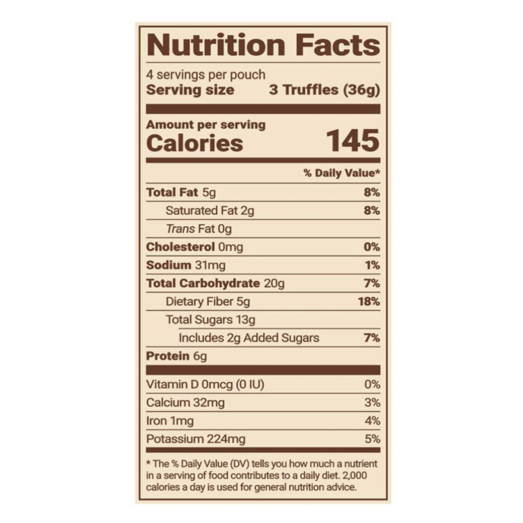 Trail Truffles™️ nutrition