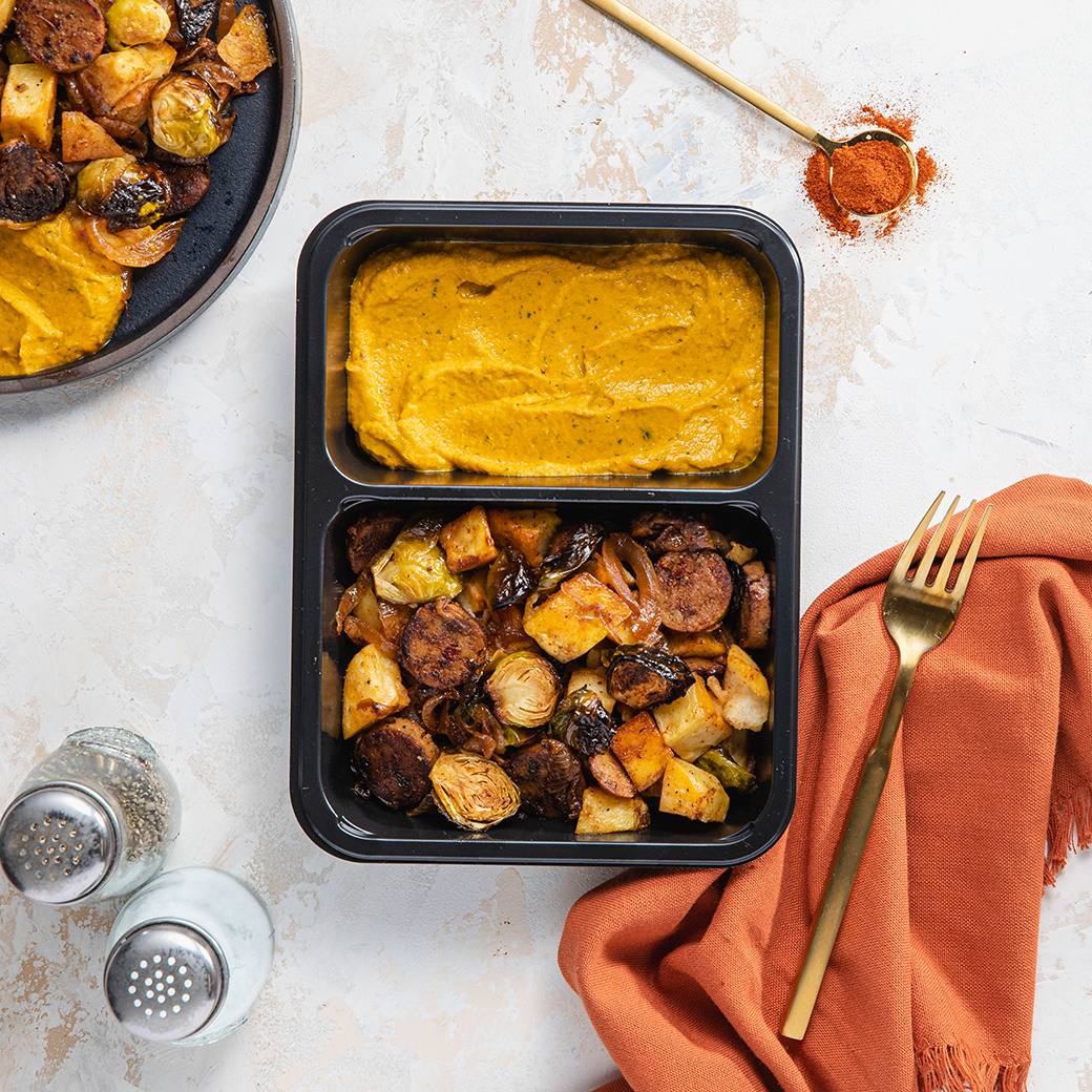 Potato Sausage Skillet
