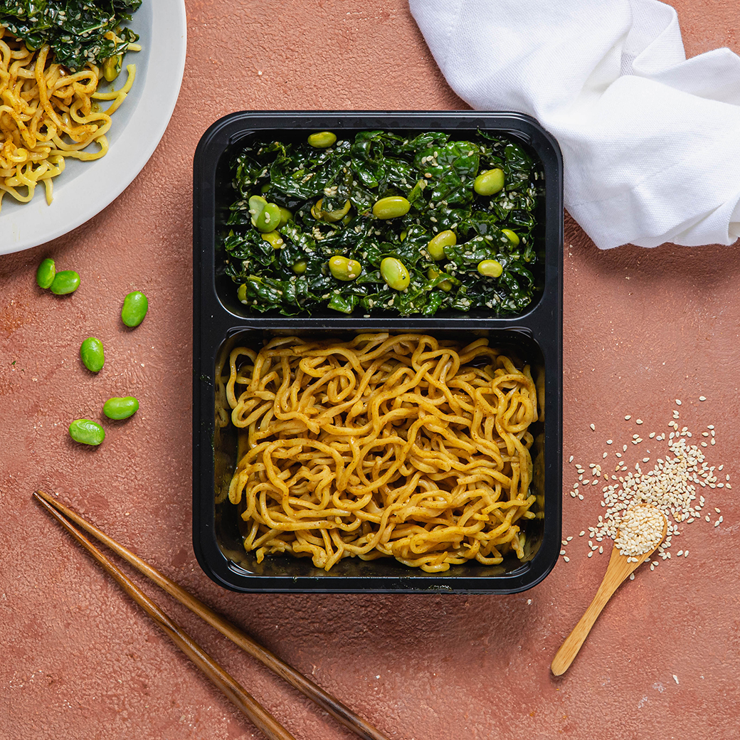 Chilled Curry Noodles