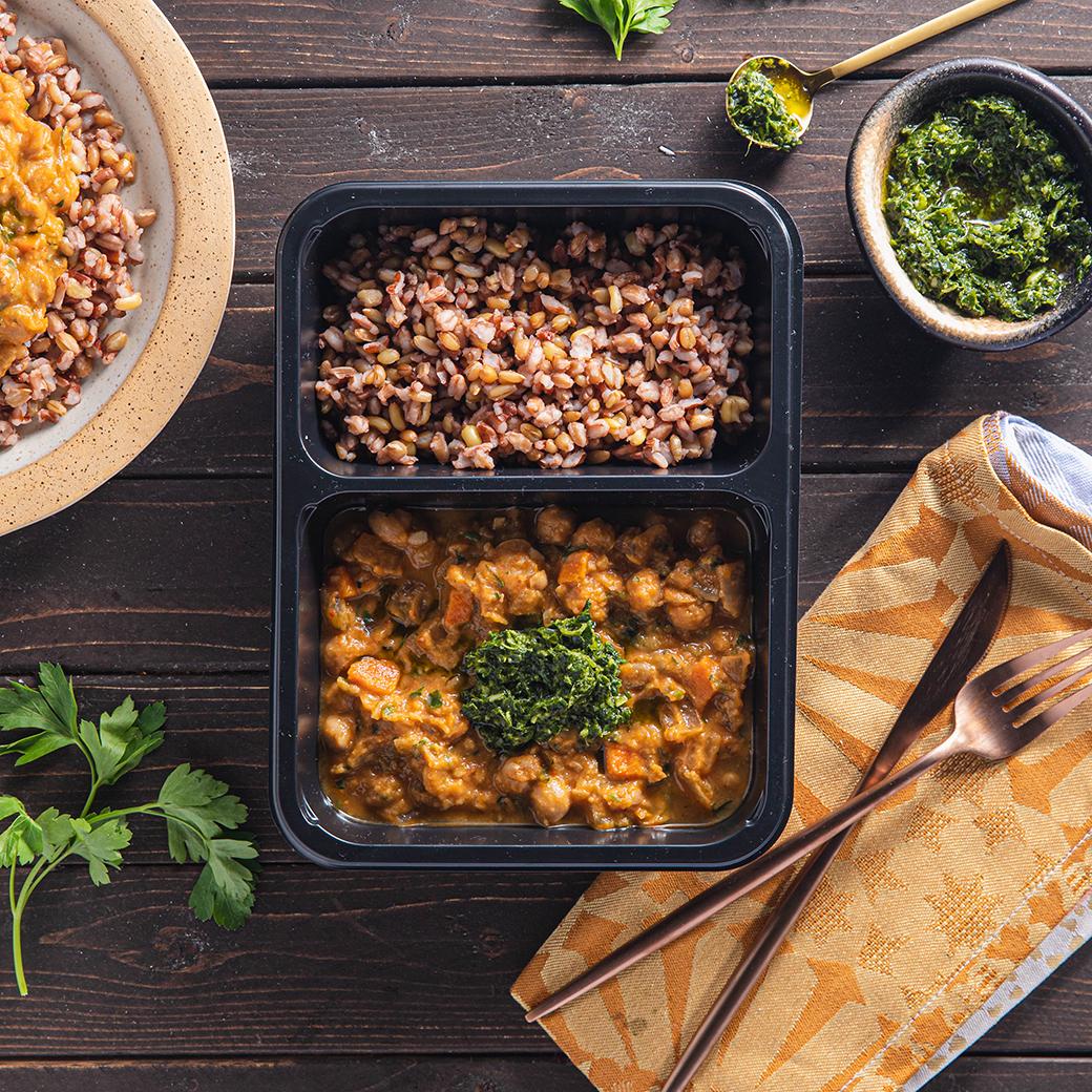 Tunisian Chickpea Stew